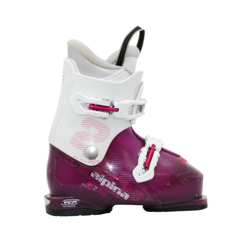 Chaussure de Ski Occasion Junior Atomic AJ 2 violet blanc - Qualité A
