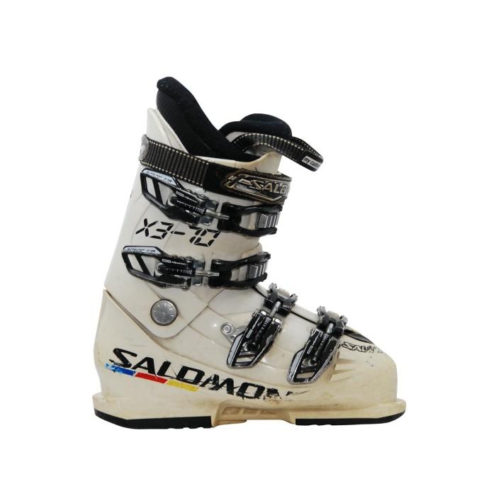 Gebrauchte Skischuh Junior Salomon X3-70