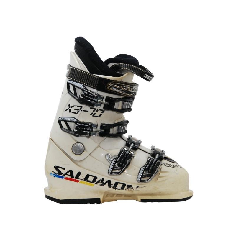Chaussure de ski occasion junior Salomon X3-70 - Qualité A