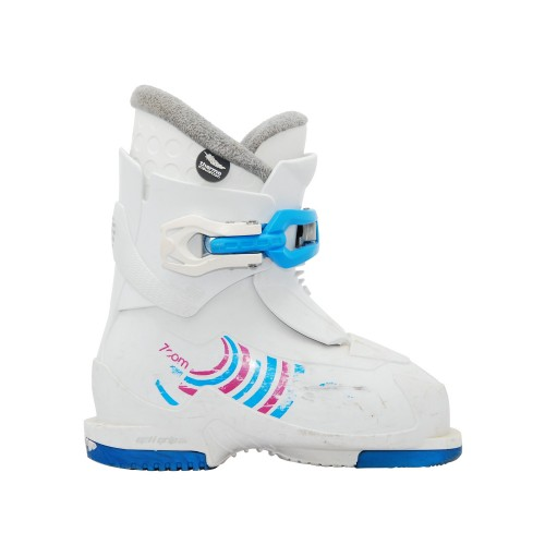 Alpina Zoom White Junior Ski Shoe
