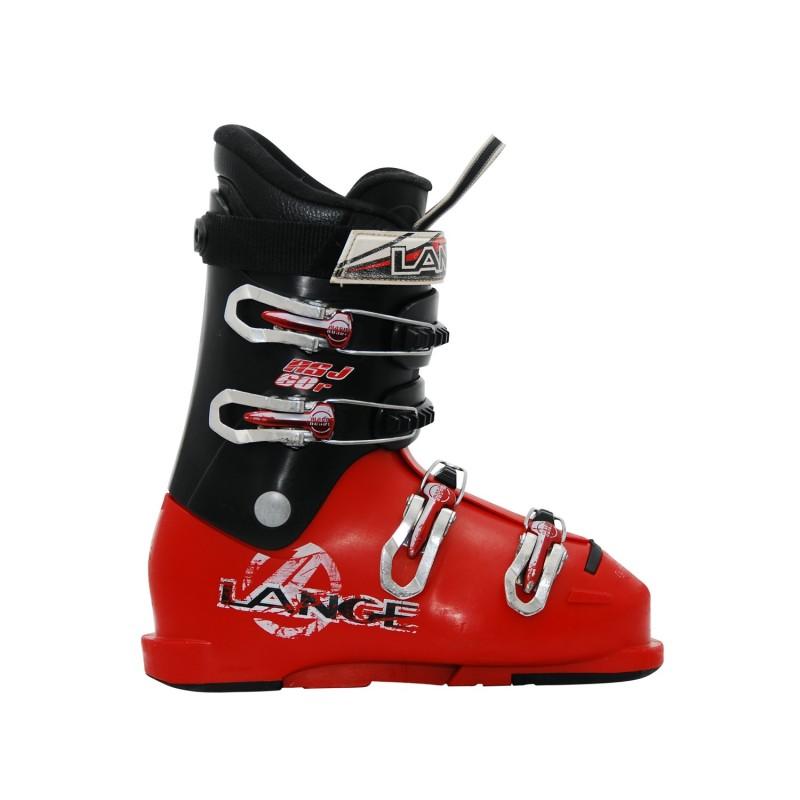 Chaussure de Ski Occasion Junior Lange RSJ 50/60 noir rouge - Qualité A