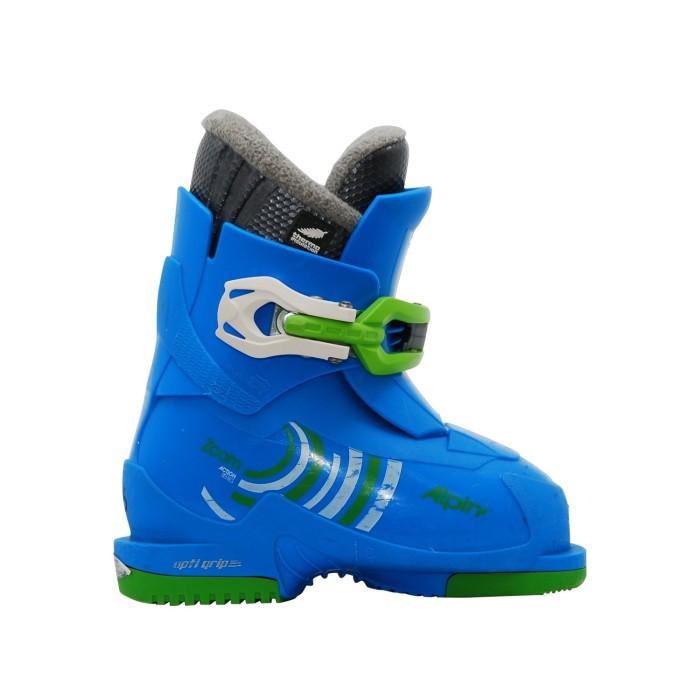 Alpina Zoom Blue Junior Ski Shoe