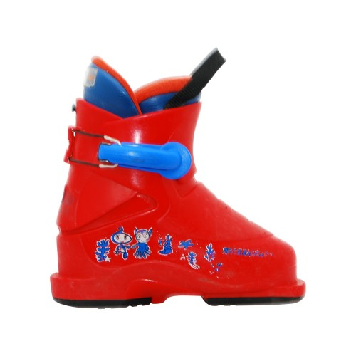 Chaussure de ski occasion junior Salomon T1 rouge