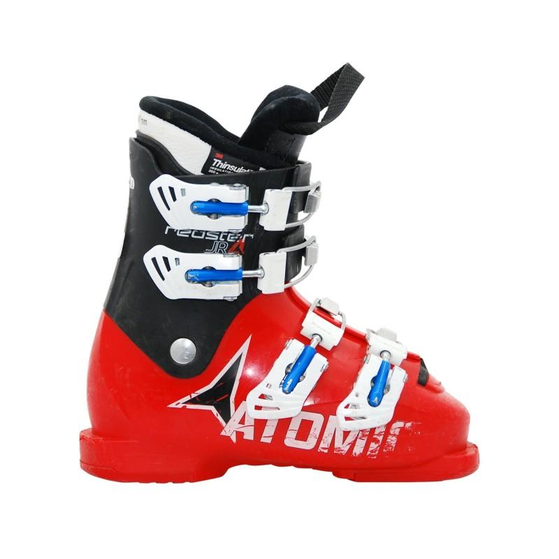 Chaussure de Ski Occasion Junior Atomic Redster JR noir rouge - Qualité A