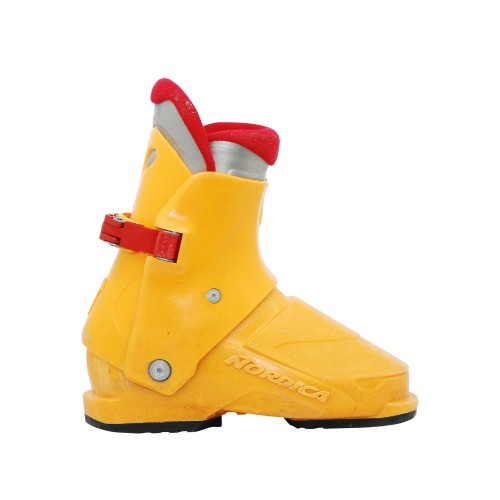 Nordica junior ski boot super 0.1 orange