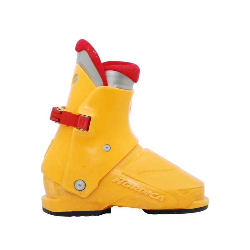 Chaussure de ski occasion junior nordica super 0.1 orange - Qualité A