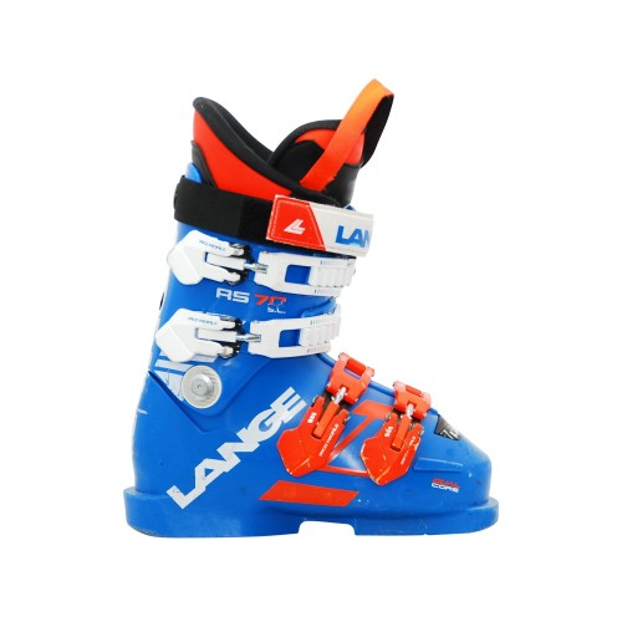 Skischuh Occasion Junior Lange RS 70 sc blau orange