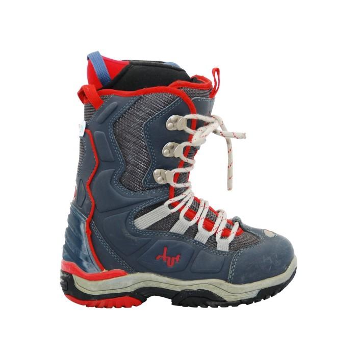Boots Gelegenheit Stuf blau rot