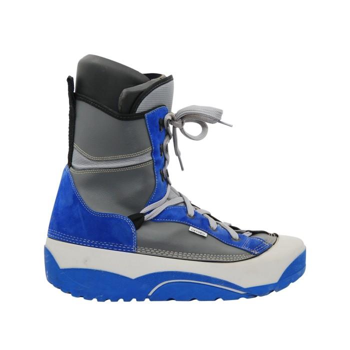 Boots occasion junior Oxygen bleu gris
