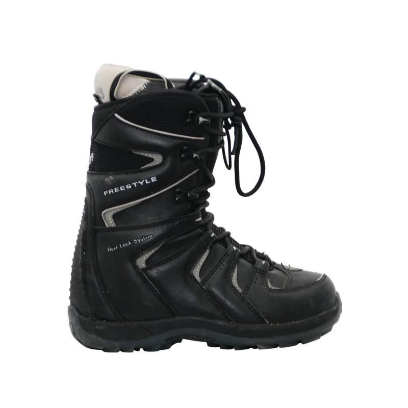 Boots occasion Stuf Freestyle noir - Qualité A