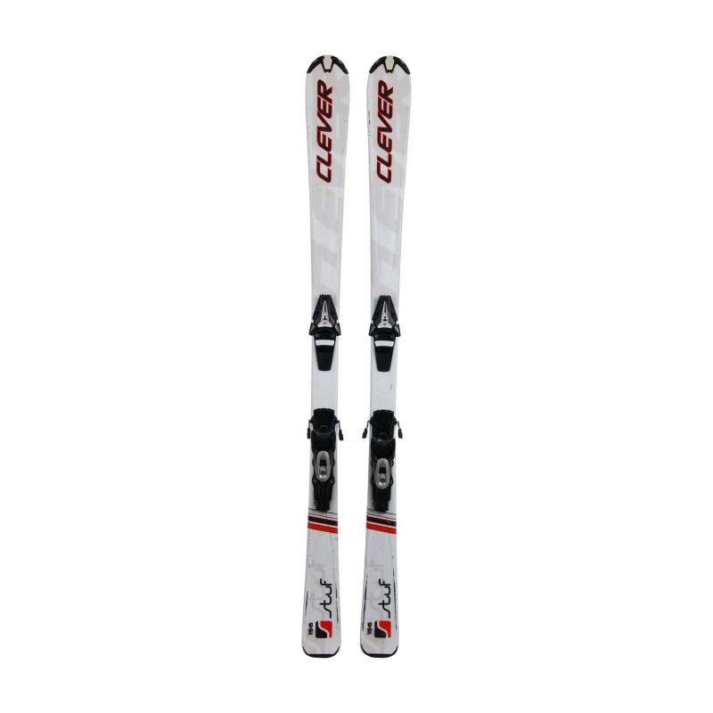 Ski Stuf Clever occasion + Fixation - Qualité B