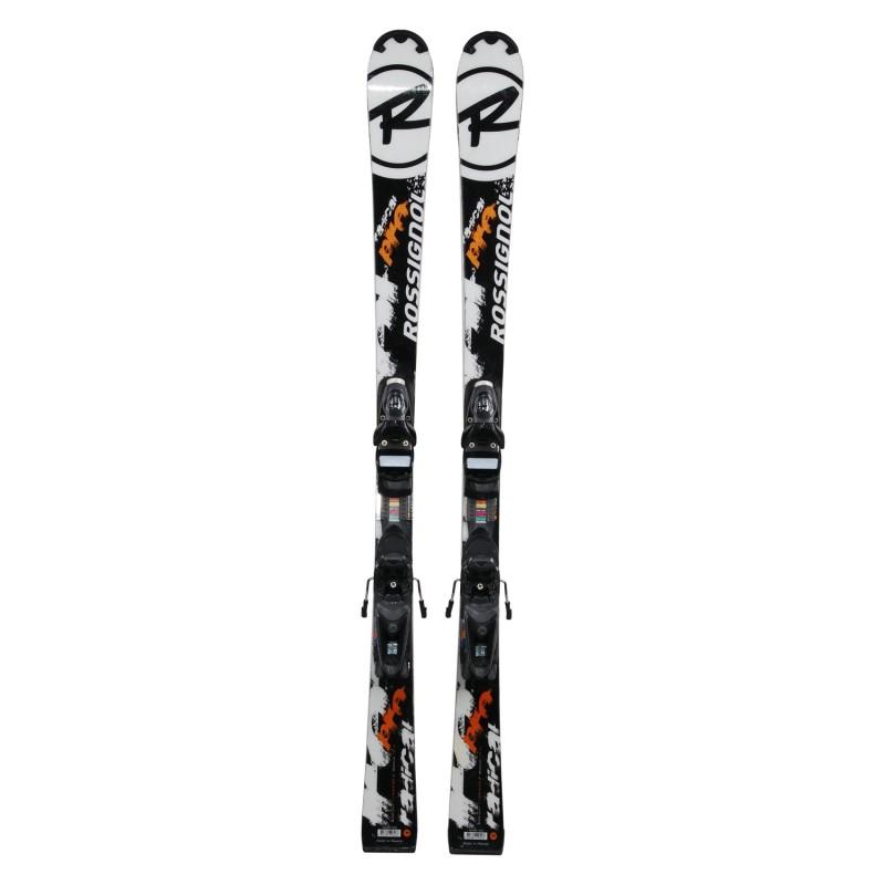 Ski occasion junior Rossignol Radical Pro + fixations - Qualité A