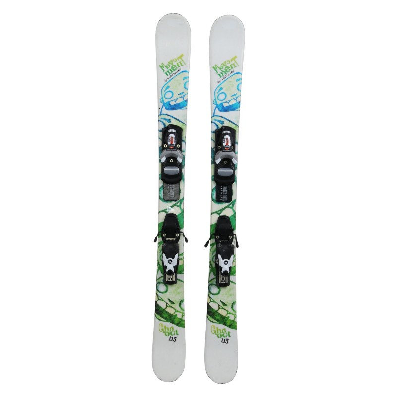 Ski junior Movement Ghost occasion - bindings - Quality A