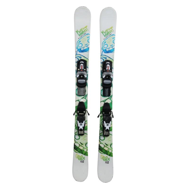 Ski junior Movement Ghost occasion + fixations - Qualité A