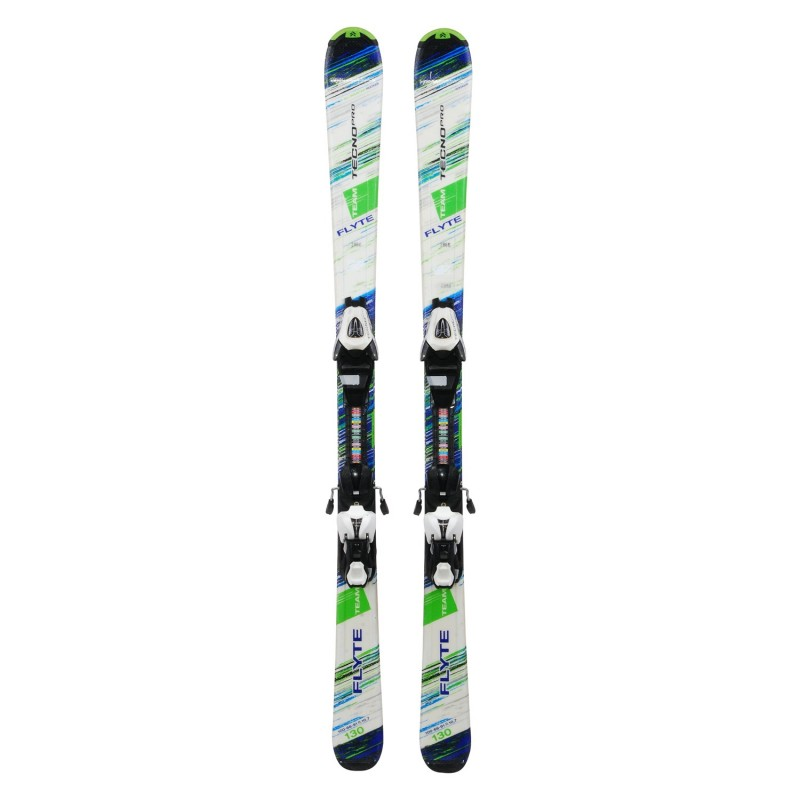 Ski occasion junior Tecnopro Flyte Team + fixations - Qualité A