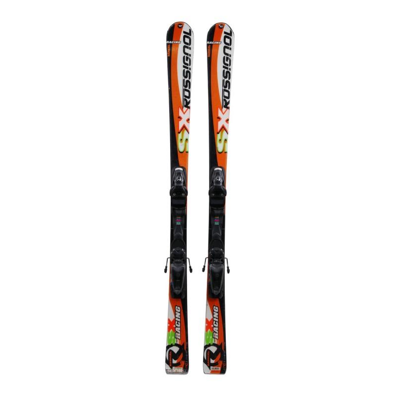Ski occasion junior Rossignol SX Radical Racing + fixations - Qualité C