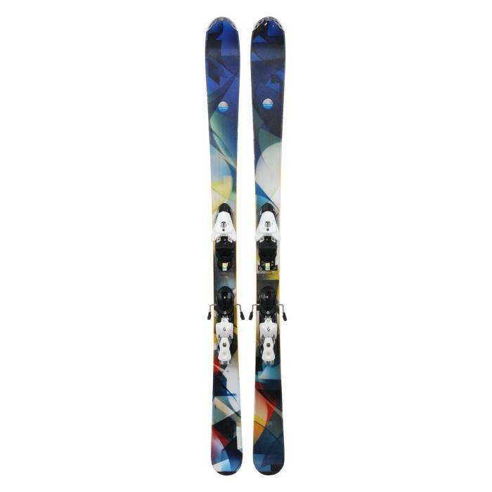 Gebrauchte Scott Mission Ski + Befestigungen