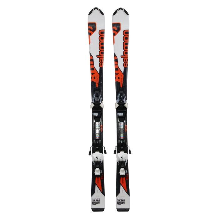 Gebrauchte Ski für Junior Salomon Enduro jr 800 + Befestigungen