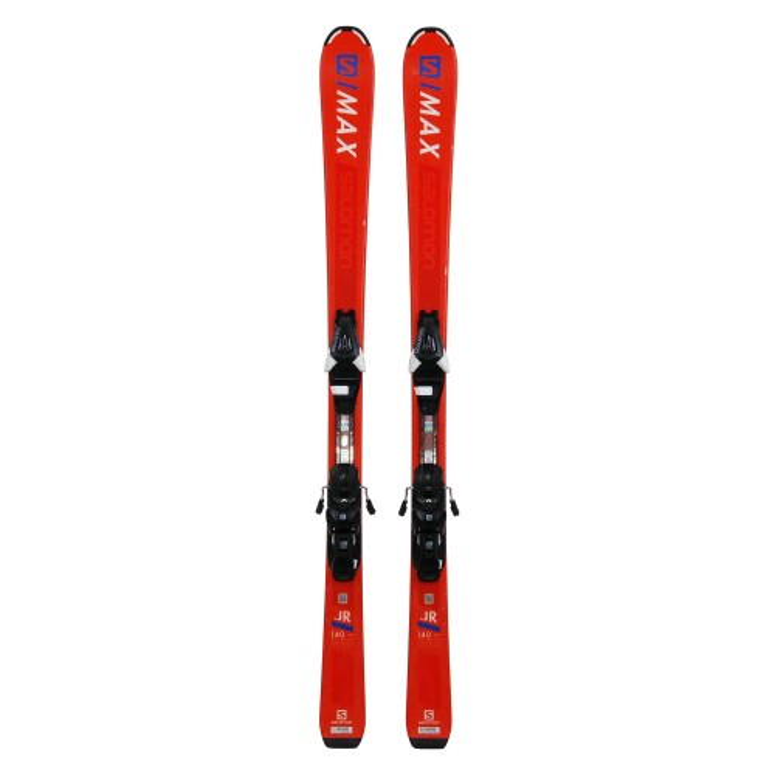 Esquí usado Salomon S MAX JR naranja - fijaciones