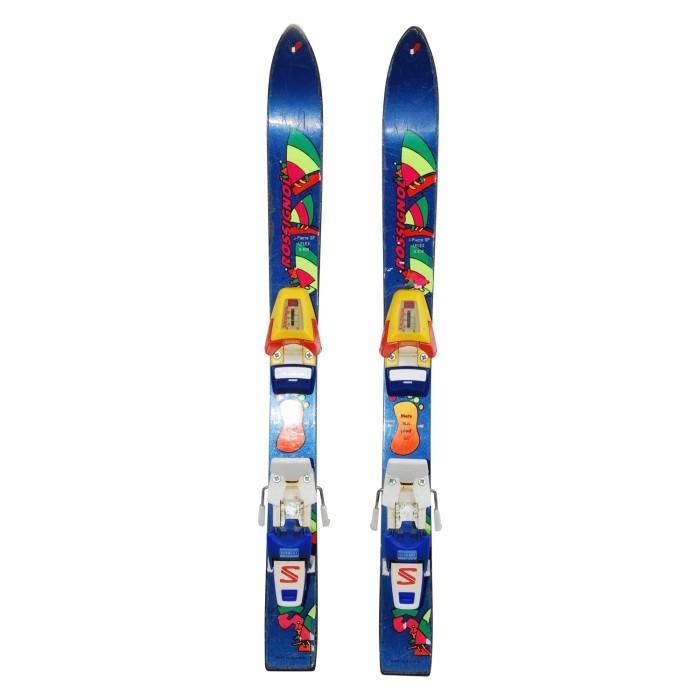 Gebrauchte Junior-Ski Rossignol SX + Befestigungen