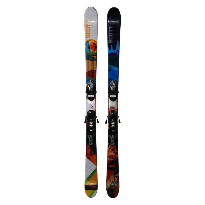 Junior ski Scott bribón F.S ocasión - fijaciones