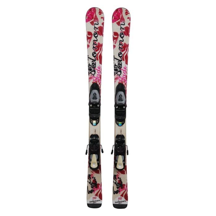Ski Junior Opportunity Salomon Jade - bindings