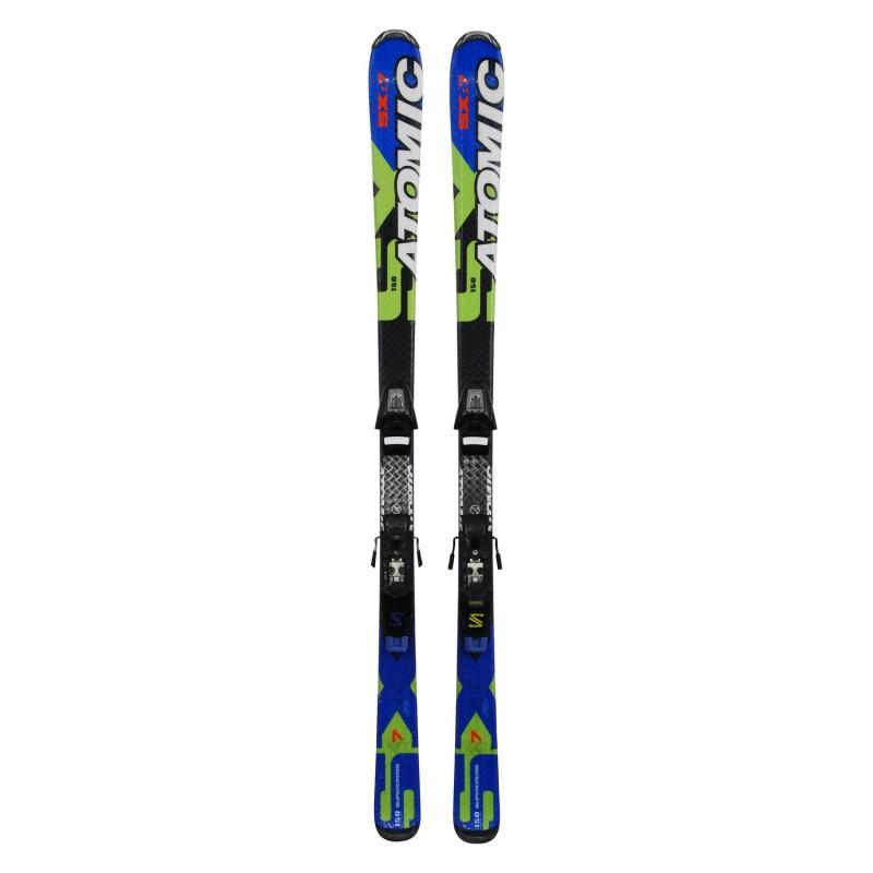 Ski occasion junior Atomic SX7 Supercross + fixations - Qualité A