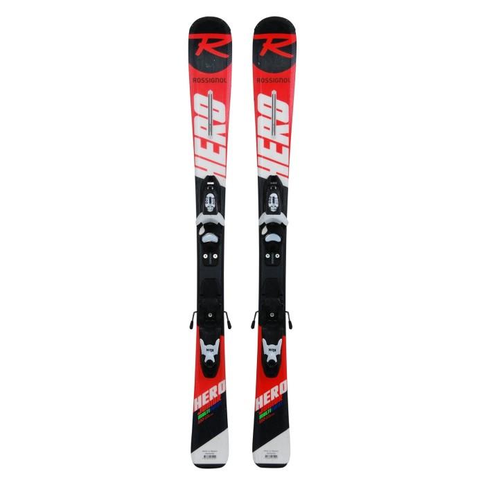 Ski occasion junior Rossignol Hero Junior Multi Event+ fixations