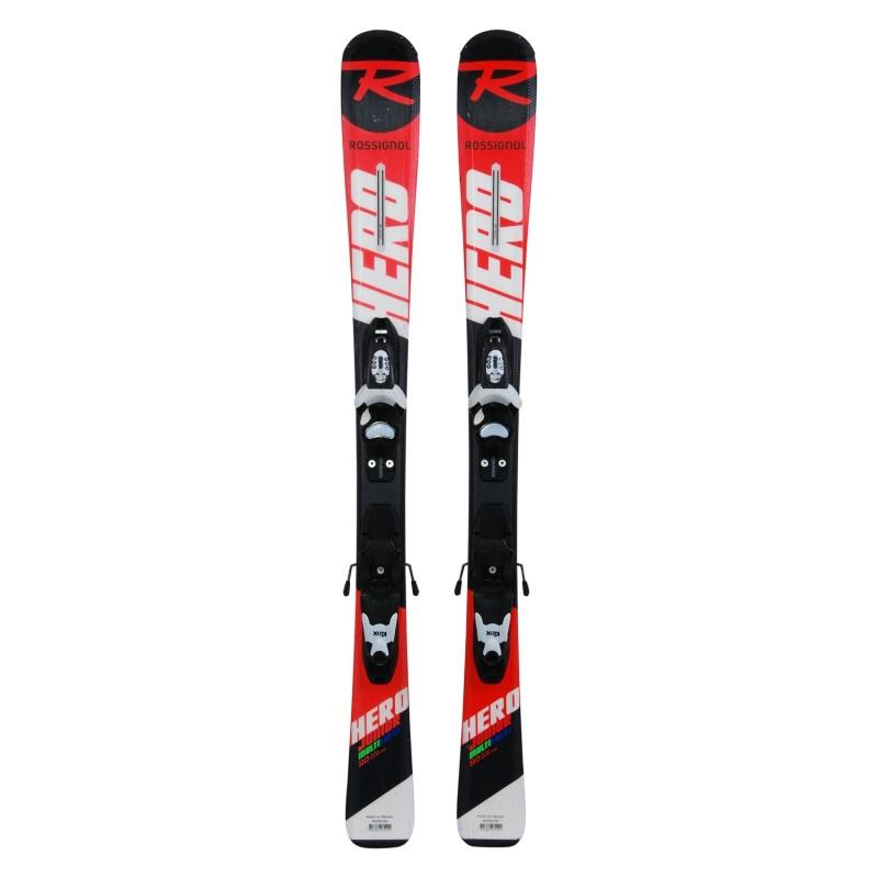 Ski occasion junior Rossignol Hero Junior Multi Event+ fixations - Qualité A
