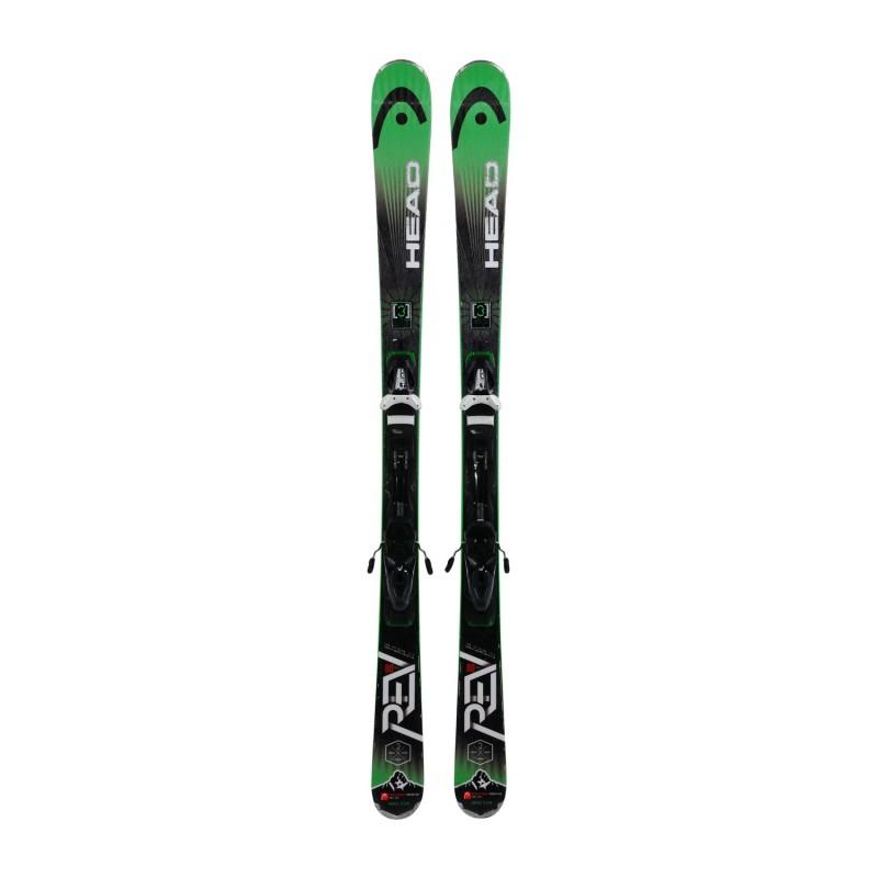 Ski occasion Head Rev 80 pro + fixations - Qualité A