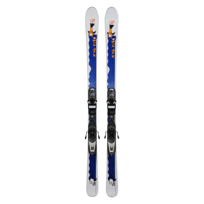 Ski-Anlass Junior M 'en fish + Befestigungen