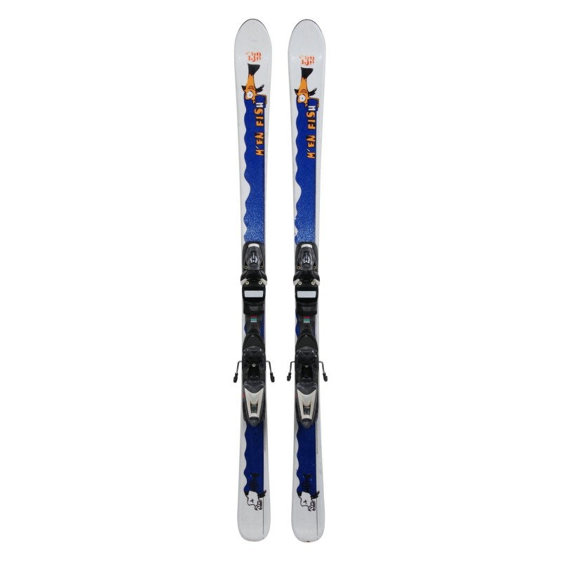 Ski occasion Junior M'en fish + fixations - Qualité A