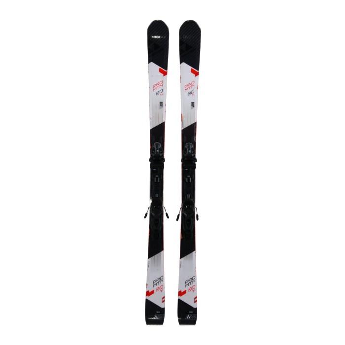 Esquí utilizado Fischer Pro MTN 80 Ti - fijaciones