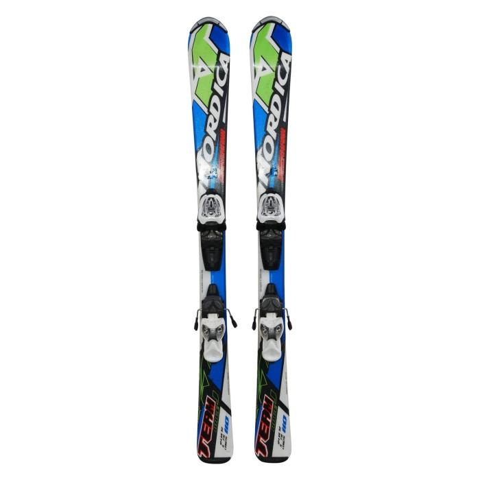 Ski occasion junior Nordica Dobermann team race J + fixations