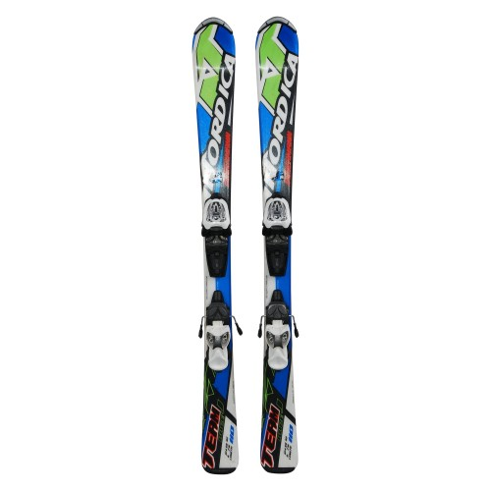 Skifahren junior Nordica Dobermann team race J + Befestigungen