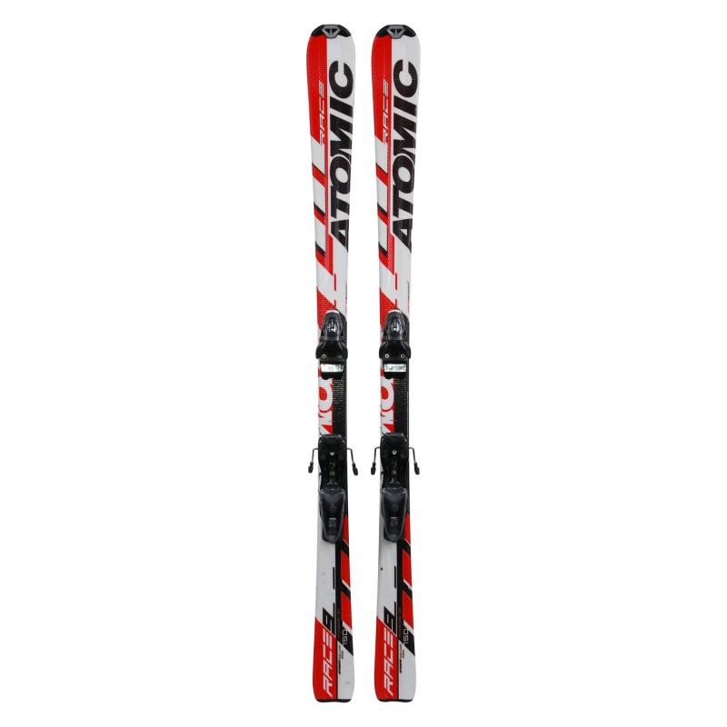 Ski occasion junior Atomic race 9 + fixations - Qualité A