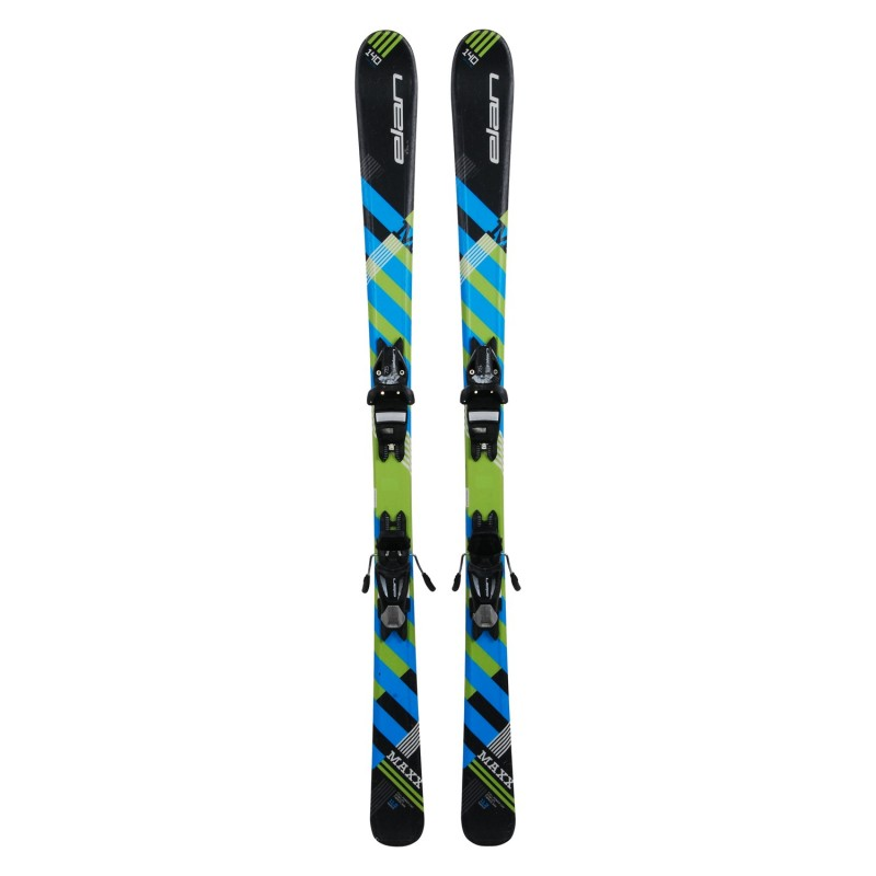 Ski occasion junior Elan Maxx Quick Shift + Fixations - Qualité A