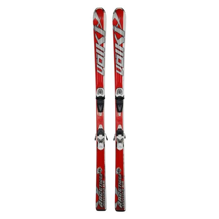 Beiläufige Ski-Junioren Volkl racetiger GS + Befestigungen