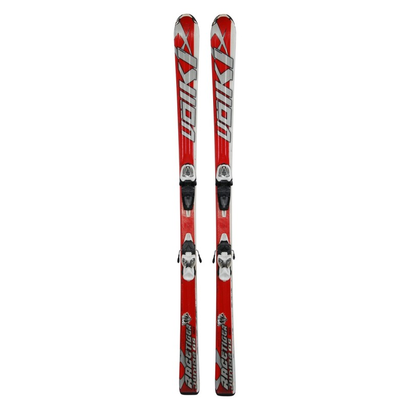 Ski occasion junior Volkl racetiger GS + fixations - Qualité B