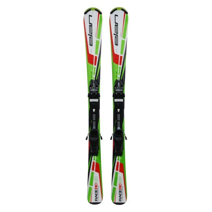 Gebrauchte Skier Junior ELAN RACE RC Waveflex + Befestigungen