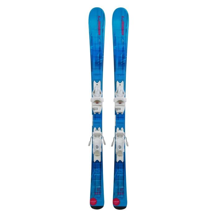 Gebrauchte Elan Starr Junior Ski + Befestigungen