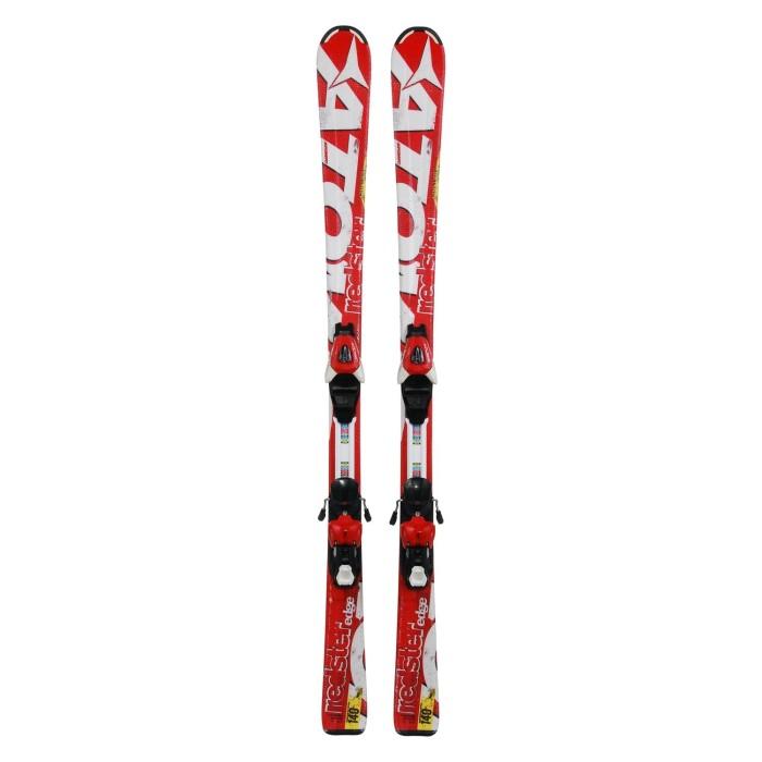 Gebrauchte Ski-Junioren Atomic Redster Edge + Befestigungen