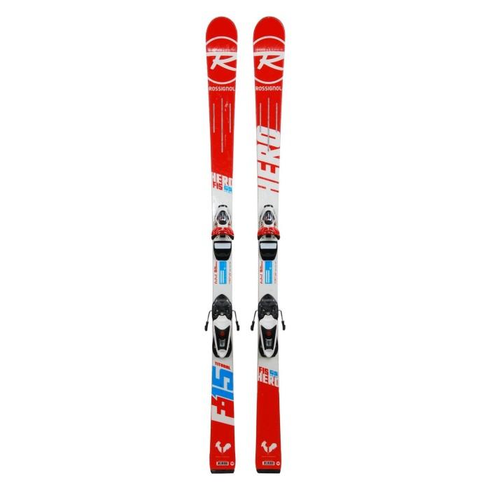 Ocasión de esquí junior Rossignol héroe FIS GS pro ' fijaciones