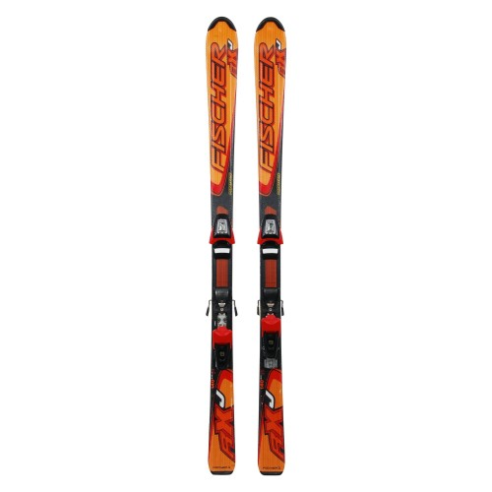 Oportunidad junior de esquí Fischer RXJ - fijaciones