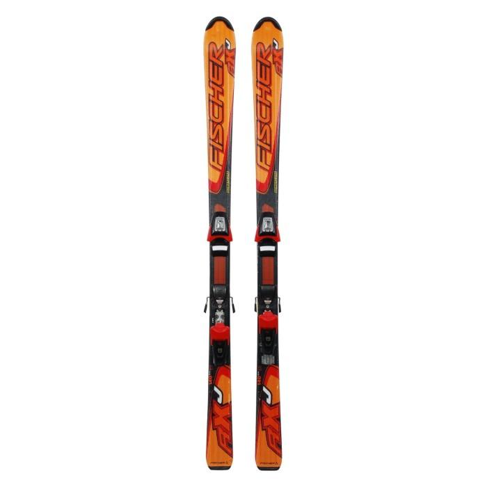 Ski für Junior Fischer RXJ + Befestigungen