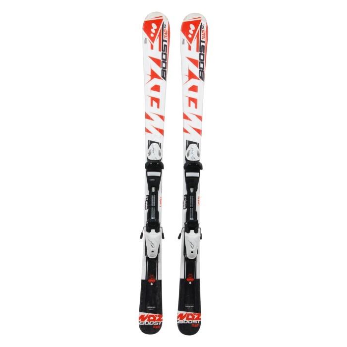 Auslässe Junior Ski Wedze Boost Team 300 Orange + Befestigungen