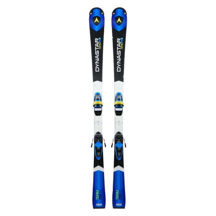 Gebrauchte Skifahren Junior Dynastar Team Pro Racing series + Befestigungen
