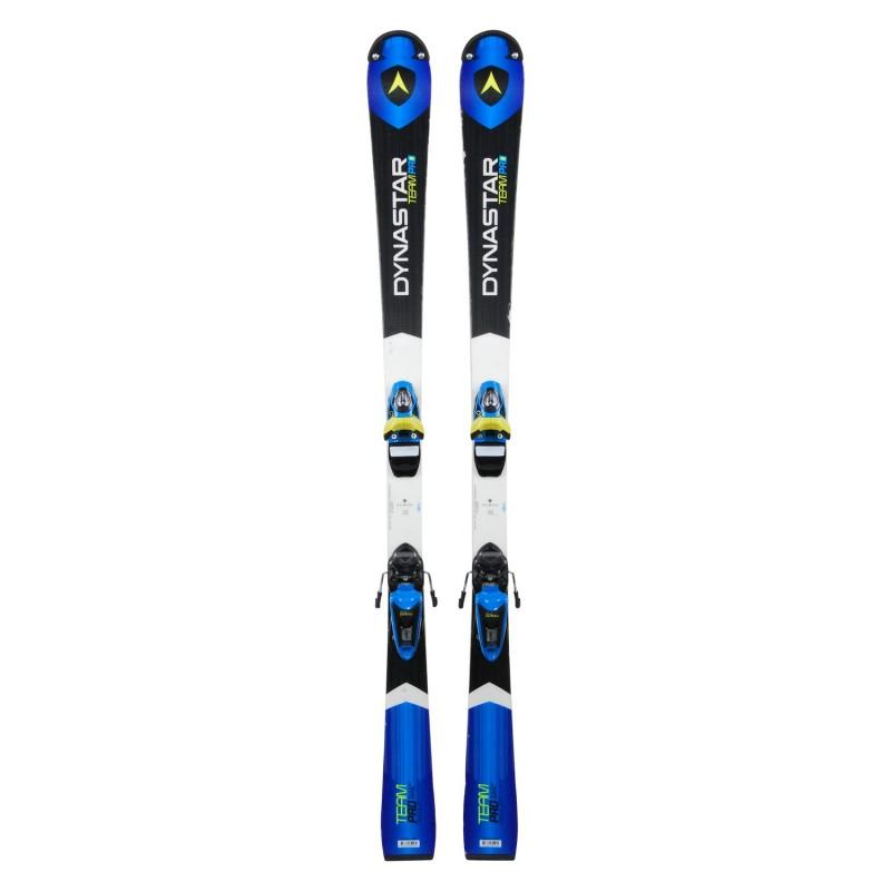 Ski occasion Junior Dynastar Team Pro Racing series + fixations - Qualité A