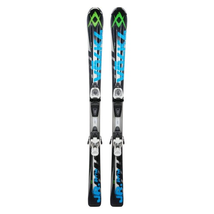 Oportunidad junior de esquí Volkl RTM negro/azul - fijaciones