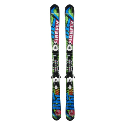 Ski occasion junior Technopro Firefly Rocket + fixations
